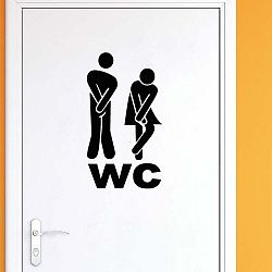 Samolepka Ambiance Timid Man and Woman