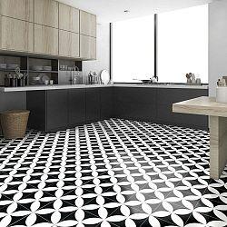 Samolepka na podlahu Ambiance Floor Sticker Tiles Adelmo, 100 x 60 cm