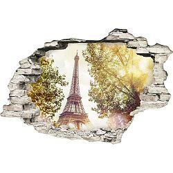 Samolepka na zeď Ambiance Paříž, 60 x 90 cm