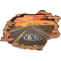 Samolepka na zeď Ambiance Route 66, 60 x 90 cm