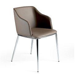 Šedá jídelní židle Ángel Cerdá Dulce