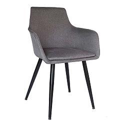 Šedá jídelní židle Evergreen House Elegance Home