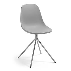 Šedá jídelní židle La Forma Mint