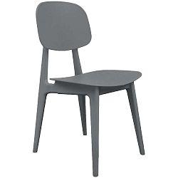 Šedá jídelní židle Leitmotiv Vintage