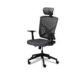 Šedá kancelářská židle Furnhouse Nova