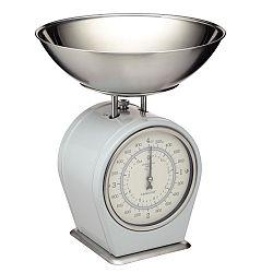 Šedá kuchyňská váha Kitchen Craft Living Nostalgia, 4kg