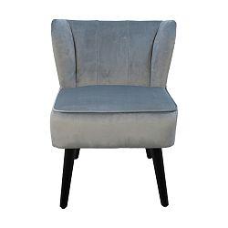 Šedá židle HSM collection Cocktail