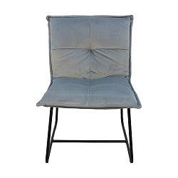 Šedá židle HSM collection Estelle Relax