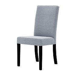 Šedá židle s černými nohami Ted Lapidus Maison Tonka