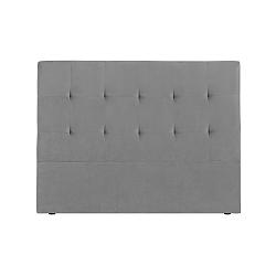 Šedé čelo postele Kooko Home Basso, 120 x 180 cm