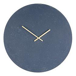 Šedé dřevěné nástěnné hodiny House Nordic Paris, ⌀60cm