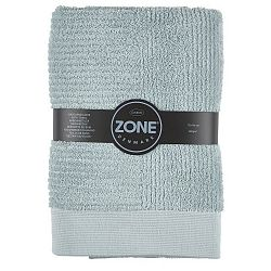 Šedo-zelená osuška Zone Classic, 70x140cm