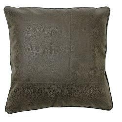 Šedobéžový polštář ZicZac Tuscon, 43x43cm