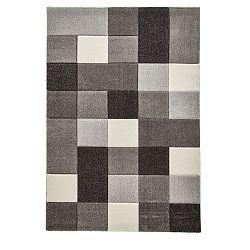 Šedobílý koberec Think Rugs Brooklyn, 120x170cm