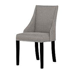 Šedohnědá židle s černými nohami Ted Lapidus Maison Patchouli