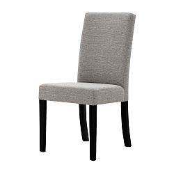 Šedohnědá židle s černými nohami Ted Lapidus Maison Tonka