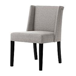 Šedohnědá židle s černými nohami Ted Lapidus Maison Zeste