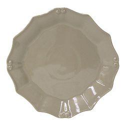Šedohnědý talíř Costa Nova Barroco, Ø21cm