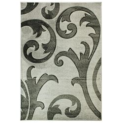 Šedý koberec Flair Rugs Elude Grey, 80x150cm