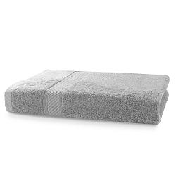 Šedý ručník DecoKing Bamby, 50 x 100 cm