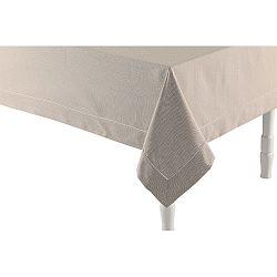 Šedý ubrus na stůl s příměsí bavlny Bella Maison,160x160cm