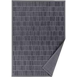 Šedý vzorovaný oboustranný koberec Narma Kursi, 140x200cm