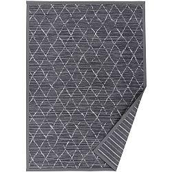 Šedý vzorovaný oboustranný koberec Narma Vao, 70x140cm