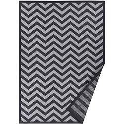 Šedý vzorovaný oboustranný koberec Narma Viita, 160x230cm