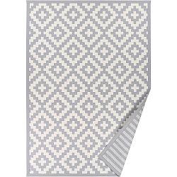 Šedý vzorovaný oboustranný koberec Narma Viki, 140x200cm