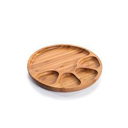 Servírovací podnos z bambusového dřeva Bambum Tortil