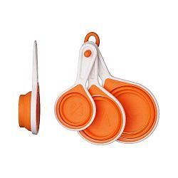 Set odměrek Zing Orange, 4 ks