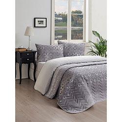 Set přehozu přes postel a povlaku na polštář Lura Cula, 160 x 220 cm