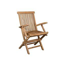 Skládací zahradní židle z teakového dřeva Santiago Pons