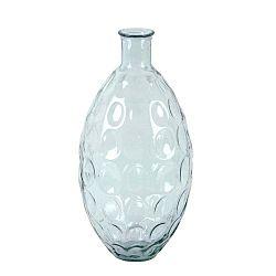 Skleněná váza z recyklovaného skla Ego Dekor Dune, výška 59 cm