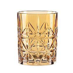 Sklenice na whisky z křišťálového skla Nachtmann Highland Amber, 345ml