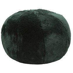 Smaragnově zelený puf Mauro Ferretti Plush