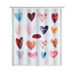 Sprchový závěs Wenko Love, 180x200cm