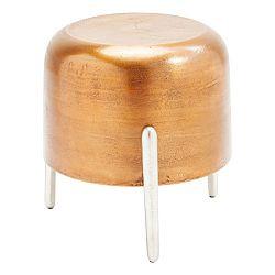 Stolička v měděné barvě Kare Design Lumpy