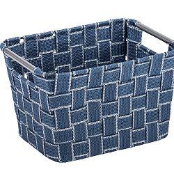 Středně velký modrý košík Wenko Fedra