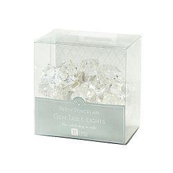Stříbrný světelný řetěz z led svítidel Talking Tables