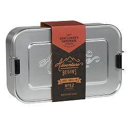 Svačinový box Gentlemen's Hardware Metal Lunch
