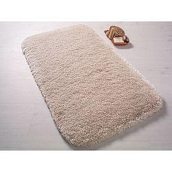 Světle béžová předložka do koupelny Confetti Bathmats Miami, 80x140cm