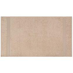 Světle hnědá osuška z bavlny a bambusového vlákna Lavinya, 70x140cm