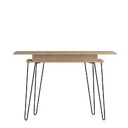 Světle hnědý konzolový stolek Symbiosis Aero
