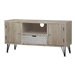 Světle hnědý TV stolek Livin Hill Loano