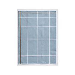 Světle modrá bavlněná kuchyňská utěrka Zone Garro, 50 x 70 cm