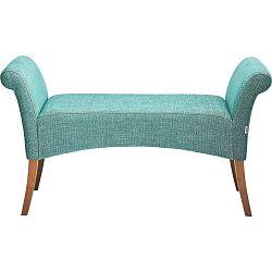 Světle modrá polstrovaná lavice Kare Design Motley