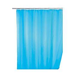 Světle modrý sprchový závěs s protiplísňovou povrchovou úpravou Wenko, 180x200cm