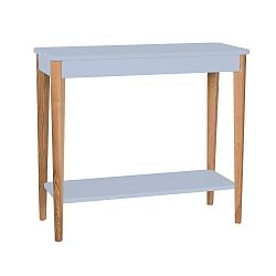 Světle šedý konzolový stolek Ragaba Ashme, šířka85cm