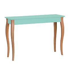 Světle tyrkysový stolek Ragaba Lillo, šířka105cm